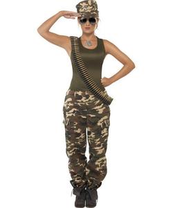 Khaki Camo costume