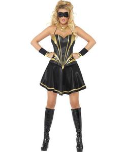 Ladies Black Knight Costume