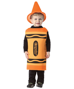 Crayola Outrageous Orange Baby Costume
