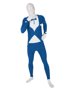 blue tux morphsuit