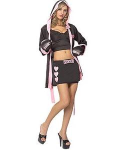 Boxer babe costume