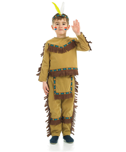 Kids Indian Chief Boy costume