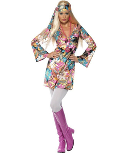 Adult Hippie Chic Costume