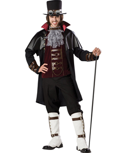 SteamPunk Vampire Adult Costume