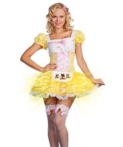 Glowing Goldilocks Costume