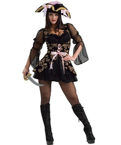lacey pirate costume