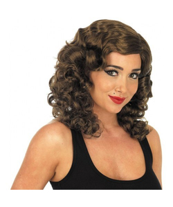 1940's Glamour Wig -Brown