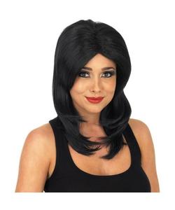 Supermodel Wig - Black