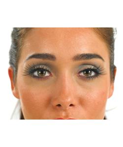 Black Criss Cross eyelashes