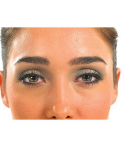 Spikey Grey eyelashes