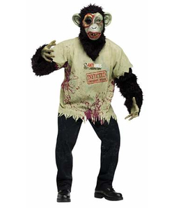 Zombie Chimp Costume