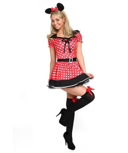 Missy Mouse Costume - Plus Size