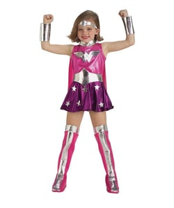 Teen Pink Wonder Woman costume