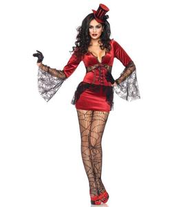 Neck Biting Vamp costume
