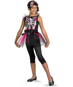 Kids Boney Ballerina costume