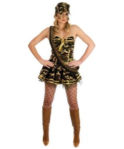 Commando Girl Costume