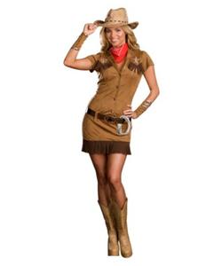 Cowgirl Diva Costume