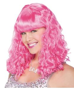 Fave Wave Wig - Pink