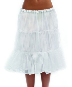 Long White Underskirt