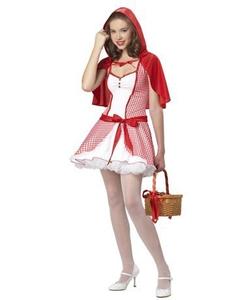 Teen Little red riding hood costume