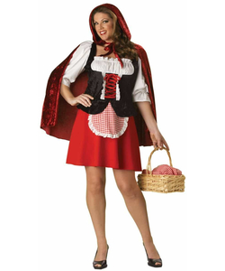 Deluxe Red Riding Hood - Plus Size