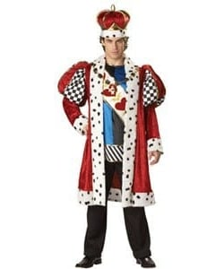 Elite king of hearts costume