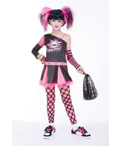Gothic Cheerleader Costume