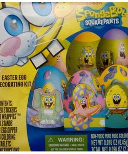 SpongeBob Decorating Kit