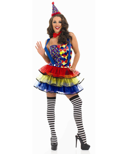 Cutie Clown Costume - Plus Size