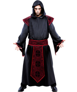 Gothic Priest Costume