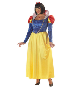 Plus Size Snow White