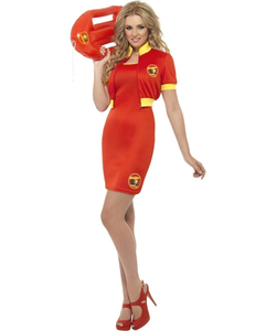 Ladies Baywatch Lifeguard Costume