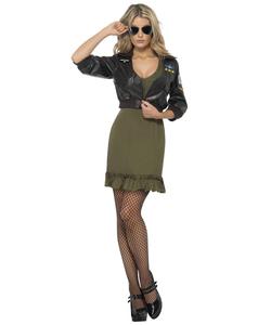 Ladies Top Gun Costume