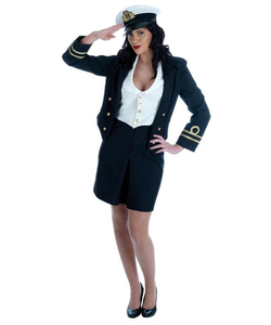 WW2 Navy Lady Costume