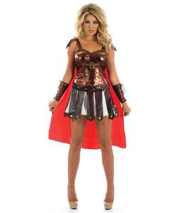 Spartan Girl Costume