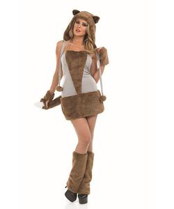 Plus Size Lady Fox Costume