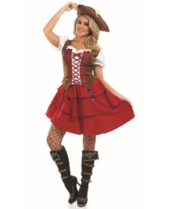 Plus Size Deck Hand Girl Costume