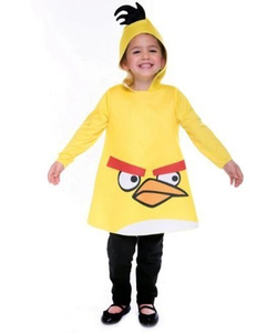Yellow Angry Bird Toddler Costume
