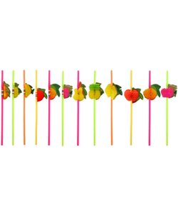 Fruit Straws - 12 Pack