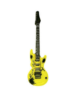 Neon Inflatable Guitar