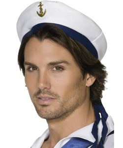 Sailor Hat - White