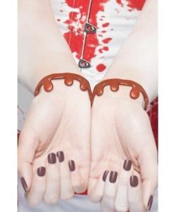 Blood Drip Bracelets