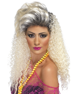 Ladies Bottle Blonde Wig