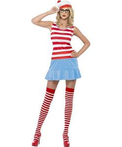 Wheres Wally Wanda Costume