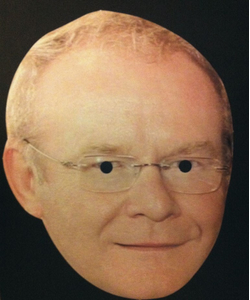 Martin Mc Guinness Mighty Craic Mask