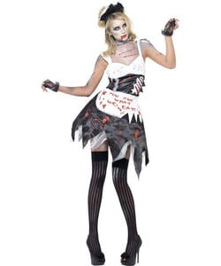 Zombie French Maid costume