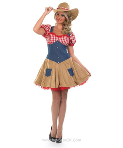 Sexy Cowgirl Ladies Costume