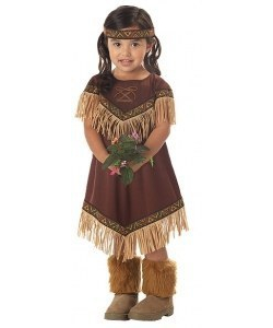 Kids Lil Indian Princess costumeCC