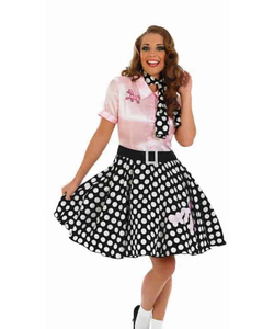 Plus Size 50's Rock N' Roll Costume