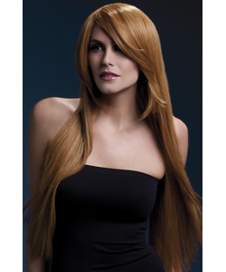 Deluxe Amber Wig - Auburn